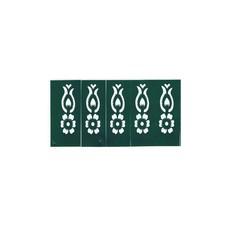 Henna stencils 10 pieces (39cm x 5.5 cm)