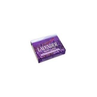 Darshan Räucherkegel Lavendel mit Halter (10 Stück)
