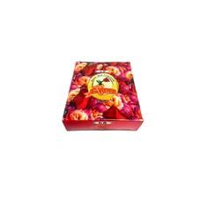Räucherkegel Rosenblüten mit Halter (10 Stück)