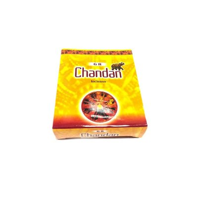 Incense cones Chandan with holder (10 piece) - Oriental scent