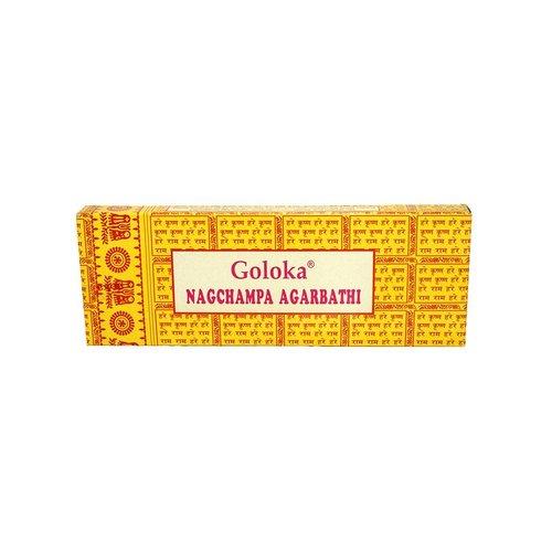 Goloka Incense sticks Satya Saibaba Nag Champa Goloka (20g)