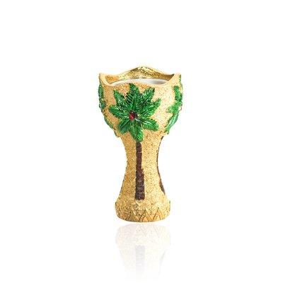 Mubkara - Large censer in gold colour for Bakhour incense burning