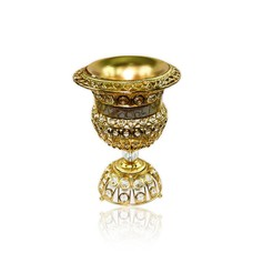 Mubkara - Large Incense Burner Gold