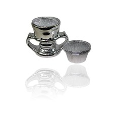 Mubkara - Silbernes Räuchergefäß