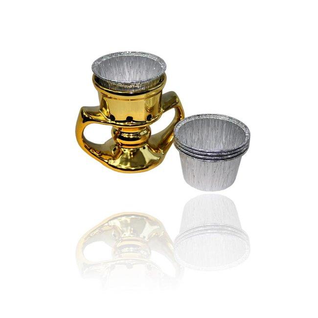 Mubkara - Goldenes Räuchergefäß