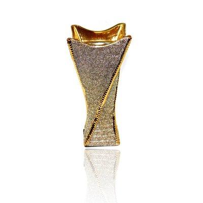 Mubkara - Incense Burner ceramics for Bakhour incense burning in gold