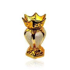 Mubkara - Räuchergefäß Keramik Orientgold