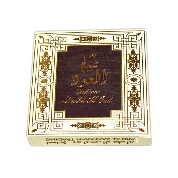 Ard Al Zaafaran Perfumes  Bakhour Sheikh Al Oud Incense (40g)
