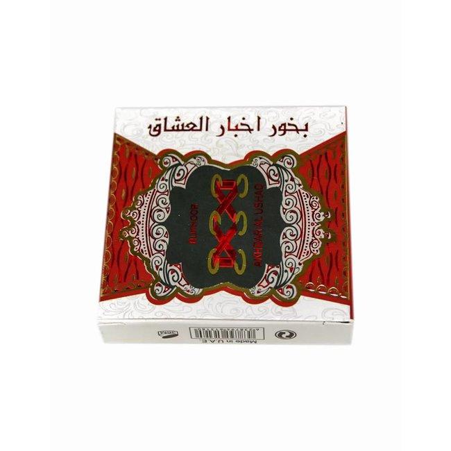 Ard Al Zaafaran Perfumes  Bakhour Akhbar Al Ushaq (40g)