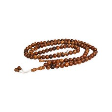 Tasbih prayer beads - round wood