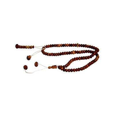 Misbaha Tasbih Prayer Beads - wood round