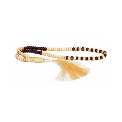 Misbaha Tasbih Prayer Beads - Duo wood 30cm