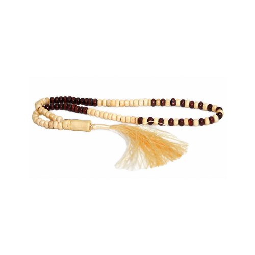 Tasbih prayer beads - Duo wood
