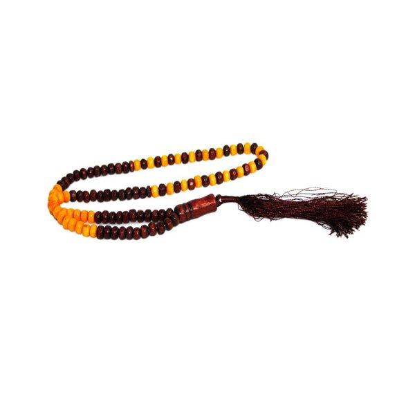 Tasbih Misbaha Gebetskette - Holz Duo 30cm