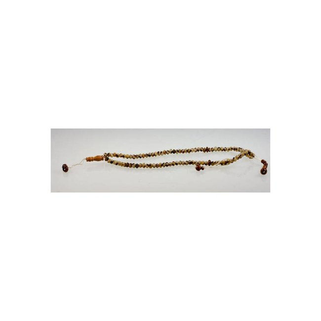 Tasbih prayer beads - round marbled