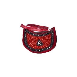 Bag semicircle Dark Red