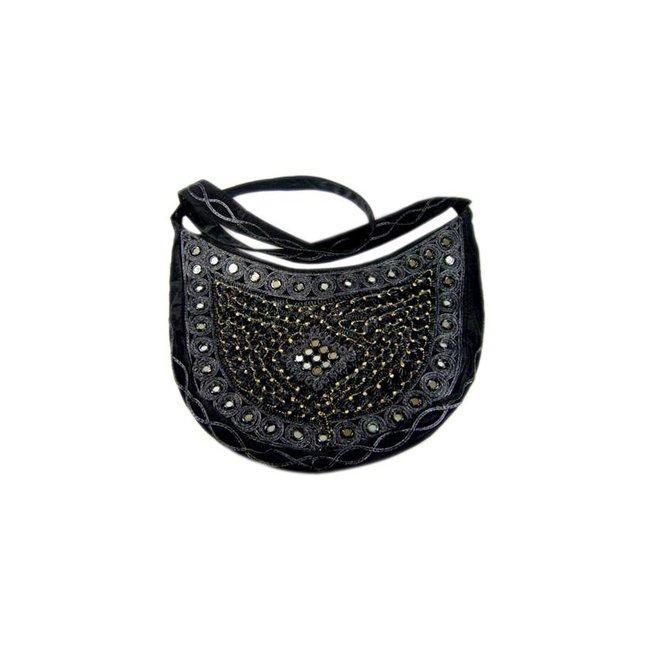 Bag Half Round Black