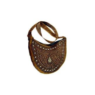 Bag Half Round Brown