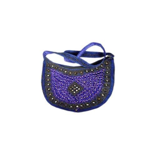 Bag Half Round Blue Violet