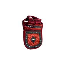 Shoulder bag handbag dark red