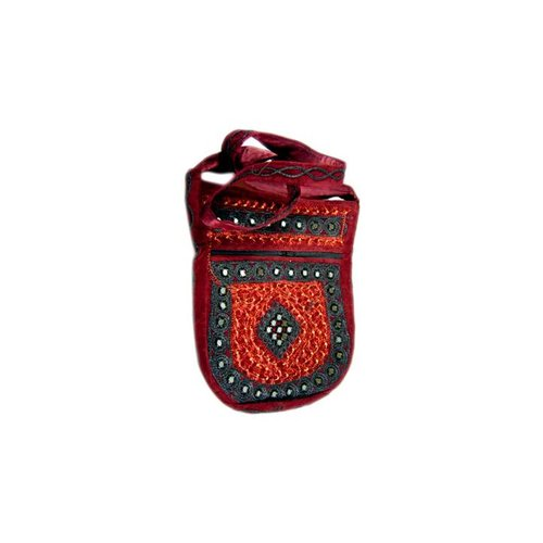 Shoulder bag handbag dark red