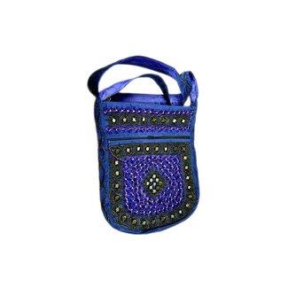 Shoulder bag handbag blue