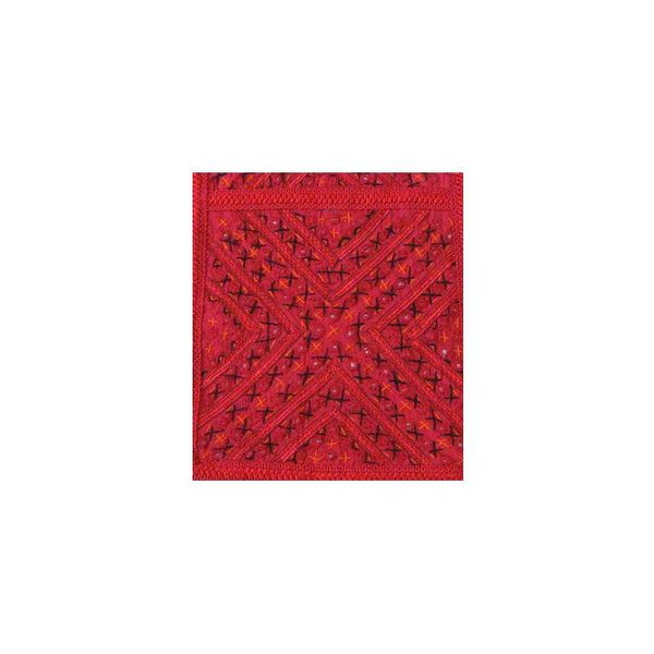 Tapestry wall hanging in Orient Red
