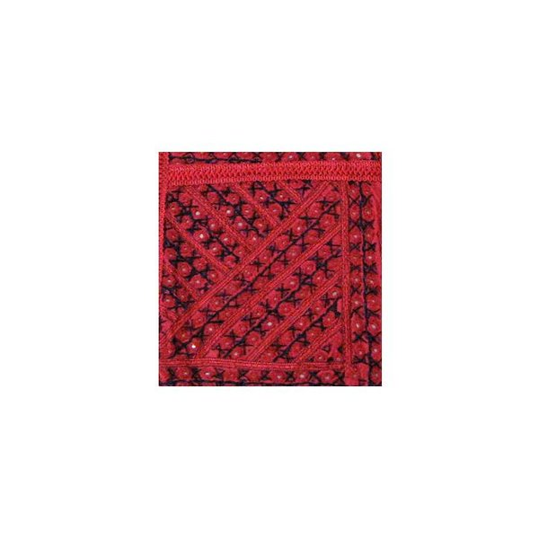 Tapestry wall hanging in Orient Red Stripes