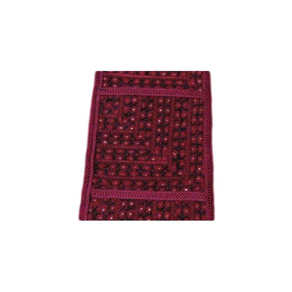 Tapestry wall hanging in Orient violet