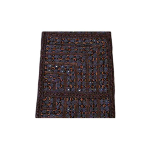 Tapestry wall hanging in Orient black