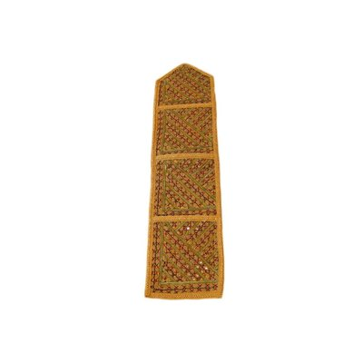 Tapestry wall hanging in Orient yellow