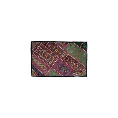 Wandteppich Patchwork Rajasthan Einzelstück Wandbehang