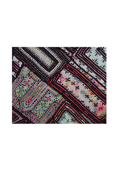 Wandteppich patchwork rajasthan prsm 010 oriental style - Wandbehang patchwork ...