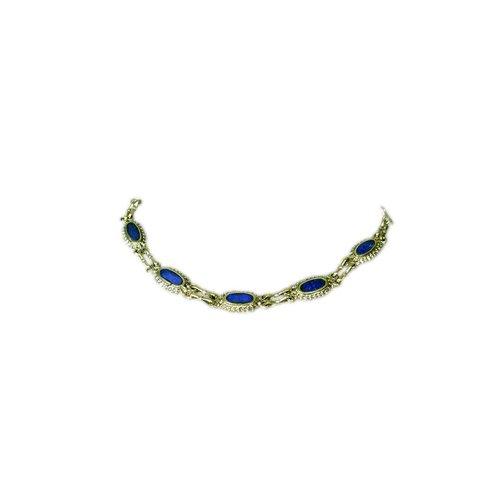 Tribal Bracelet Lapis Lazuli