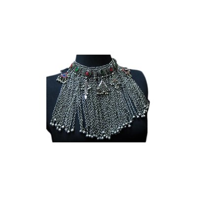 Big Tribal choker necklace