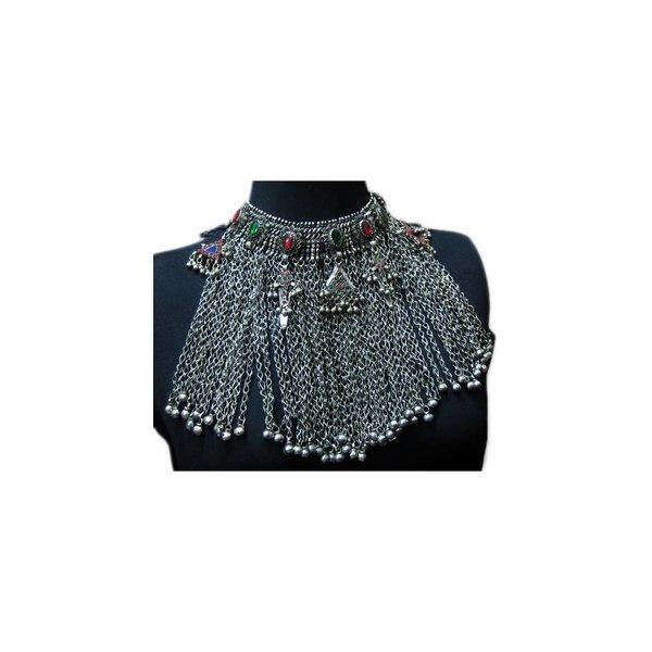 Big Tribal choker necklace