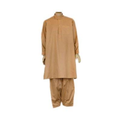 Salwar Kameez Men - Red Brown