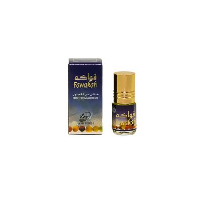 Al Fakhr Perfumes Concentrated Perfume Oil Fawakah 3ml Free from alcohol