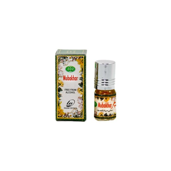 Concentrated Perfume Oil Mubakhar 3ml Free from alcohol