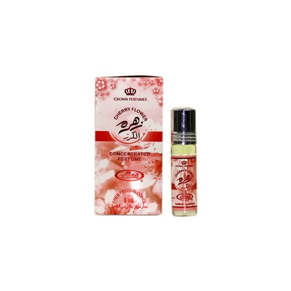 Al Rehab  Perfume Oil Cherry Flower by Al Rehab - Free From Alcohol