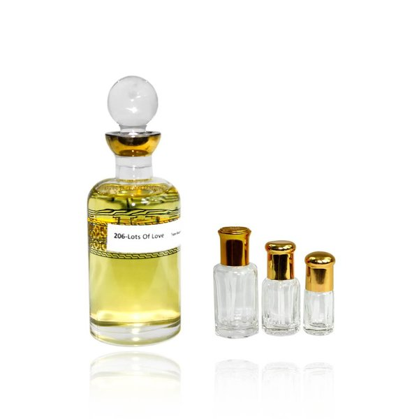 Oriental-Style Concentrated perfume oil Lots of Love - Perfume without alcohol
