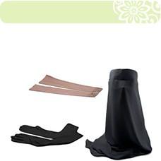 Arm Warmers & Gloves & niqab