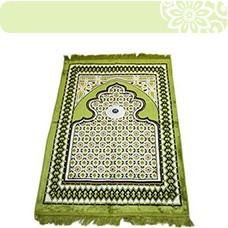 Prayer rugs w. Compass