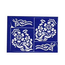 Self-adhesive henna stencil - Set