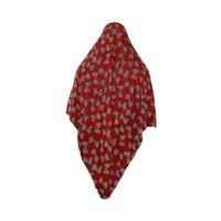 Big hijab scarf red colour