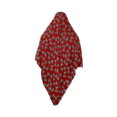 Großes Kopftuch in Rot - Hijab in Rot