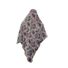 Big hijab scarf flower pattern
