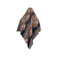 Big hijab scarf with flower pattern