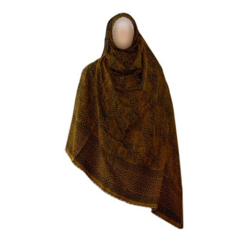 Brown Shayla hijab scarf