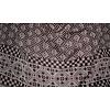 Gray Shayla hijab scarf with pattern